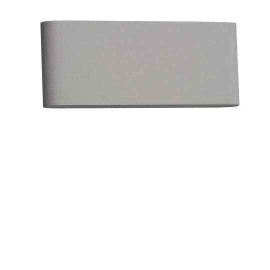Westal Illusion Plan LED Vägg Alugrå