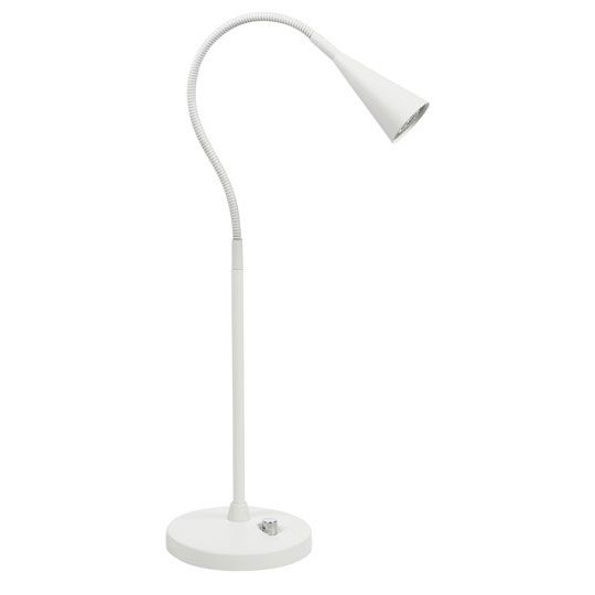 Belid B4391 Ledro Bordslampa Mattvit Dim LED