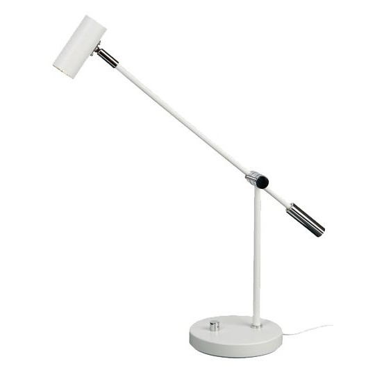 Belid B4751 Cato-Led Bordslampa Vit Med Dimmer
