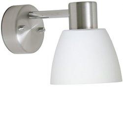 Belid V5294 Bizzo 1:A Vägglampa Alu/Opal Ip21