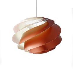 Le Klint Swirl CP1 1311M Taklampa Medium Koppar