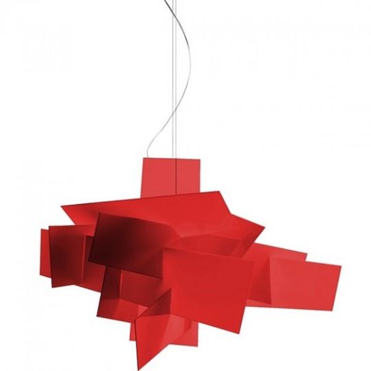 Foscarini Big Bang Pendel Halogen Röd