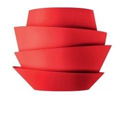 Foscarini Le Soleil Vägg Röd Ej Dimbar