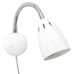 Belid V5451 Smilla Vägglampa Med Flexarm Mattvit