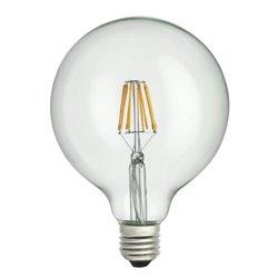 Unison Globlampa 125Mm Led 8W E27 Klar 2700K Dimbar
