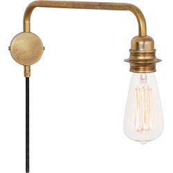 Konsthantverk Edison Vägglampa 4403-6 Ner Råmässing