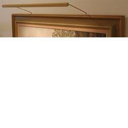 Blp-Listen Tavelbelysning 106 Standard 25,5Cm Xenon Guld Inkl Plug-In Trafo