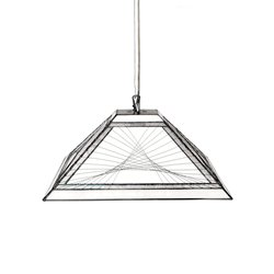 Nostalgia Design String T73-40 Taklampa Tiffany 40Cm