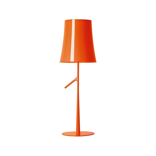 Foscarini Birdie Bordslampa Stor Orange M Dimmer
