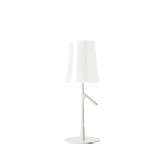 Foscarini Birdie Bordslampa LED Liten Vit Med Dimmer