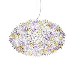 Kartell Bloom Pendel Rund Medium Lavendel