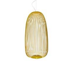 Foscarini Spokes 1 Pendel Guld Led Dimbar