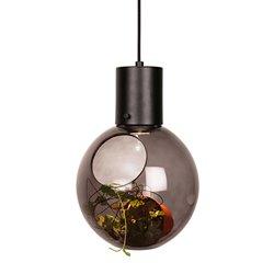 Globen Mini Hole Pendel/Bordslampa Rökfärgad/Mattsvart