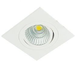 Defa Lighting Focus Quadrat Cob Led Downlight Ip44 Riktbar