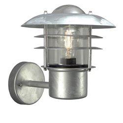 Aneta Belysning Landsort Vägglampa Uppåt Galvad Ip44