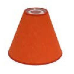 Hallbergs Läslampskärm Carolin Orange Toppring E27