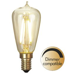 Star Trading Lyktlampa Led Edison E14 Filament 2200K 120Lm Dimbar