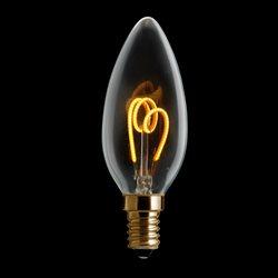Unison Kronljus Gold Dim 2200K 3W 150Lm E14 Dimbar