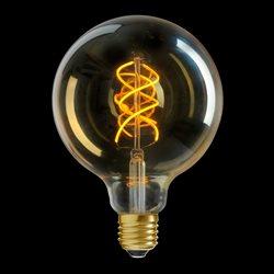 Unison Globlampa 125 Gold Dim 2000K 5W 250Lm E27