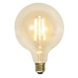 Star Trading Globlampa Led 125mm 2,3W E27 Klar 2100K Ej Dim