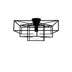 Globen Cube Plafond Svart
