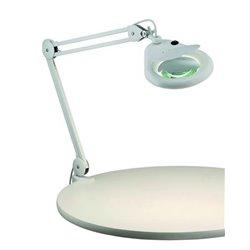Markslöjd Halltorp Förstoringslampa Vit 3Dioptrier