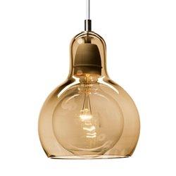 Andtradition Mega Bulb Pendel Sr2 Guld/Vit Sladd