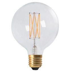 Pr Home Globlampa Led Elect Filament 125Mm 4W E27 Dimbar