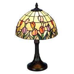 Nostalgia Design Tulipana B65-25 Bordslampa 25Cm Tiffany
