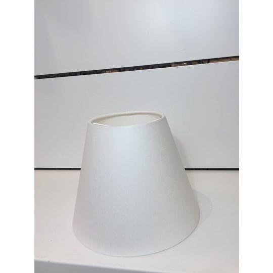 Vallentuna Lampskärm 10-18 Vit Chintz 01 Klo E14