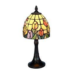 Nostalgia Design Tulipana B65-15 Bordslampa 15Cm Tiffany