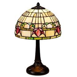 Nostalgia Design Fuchsia B99-25 Bordslampa Tiffany 25Cm