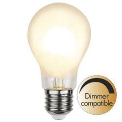 Star Trading Normallampa Led Frostad Filament 8W E27 Dim