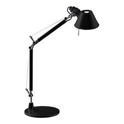 Artemide Tolomeo Mini Bordslampa Svart Inkl. Bordsfot