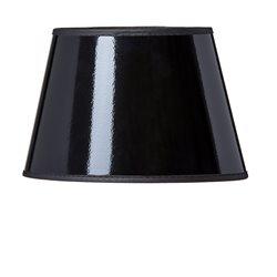 Ah Belysning Sk902 Dahlia Lampskärm Oval Svart/Guld Klo E14