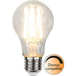 Star Trading Normallampa Filament Klar 8W E27 Dimbar