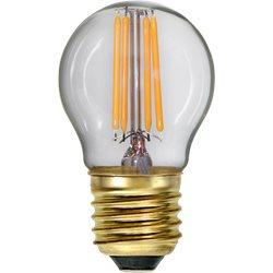 Star Trading Klotlampa Led 4W E27 Klar Filament Dim