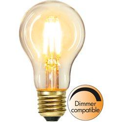Star Trading Normallampa Led 4W E27 Filament Dimbar 2100K