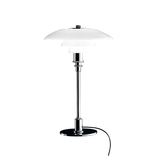 Louis Poulsen PH3/2 Bordslampa Glas/Krom
