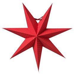 Watt&Veke Aino Stjärna 44 Röd Exkl Upphäng
