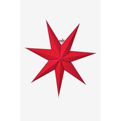 Watt&Veke Aino Stjärna 60 Röd Exkl Upphäng