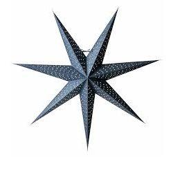 Watt&Veke Helsinki Stjärna 80 Blå/Silver Exkl Upphäng