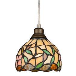 Nostalgia Design Hibiskus T08-12 Fönsterlampa Tiffany 12Cm