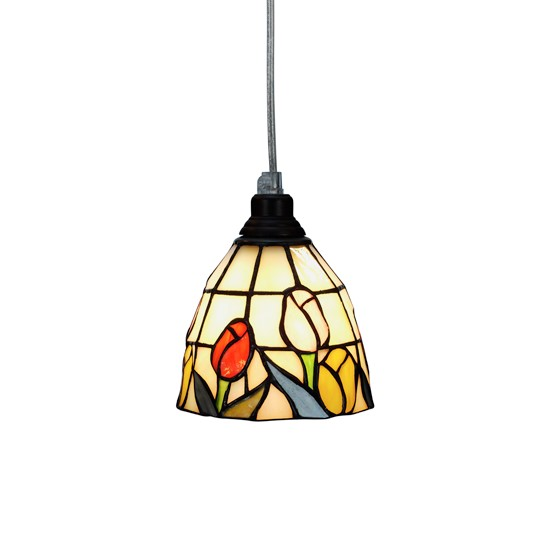 Nostalgia Design Tulipana T65-12 Fönsterlampa Tiffany