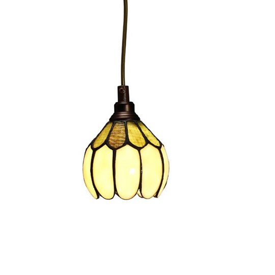 Nostalgia Design Gulsippa T70-12 Fönsterlampa Tiffany 12Cm