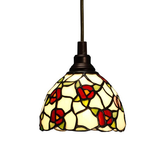 Nostalgia Design Vildros T83-13 Fönsterlampa Tiffany