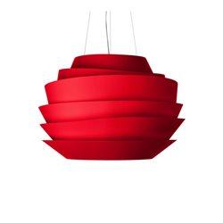 Foscarini Le Soleil Pendel Röd Led Dimbar