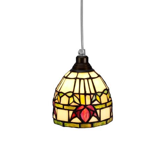 Nostalgia Design Fuchsia T99-12 Fönsterlampa Tiffany