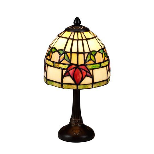 Nostalgia Design Fuchsia B99-15 Bordslampa Tiffany 15Cm