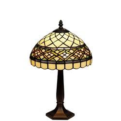 Nostalgia Design Retro B14-25 Bordslampa 25Cm Tiffany